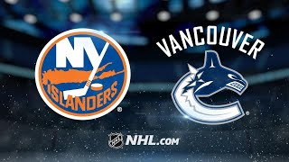 Leipsic leads Canucks to 4-3 overtime victory