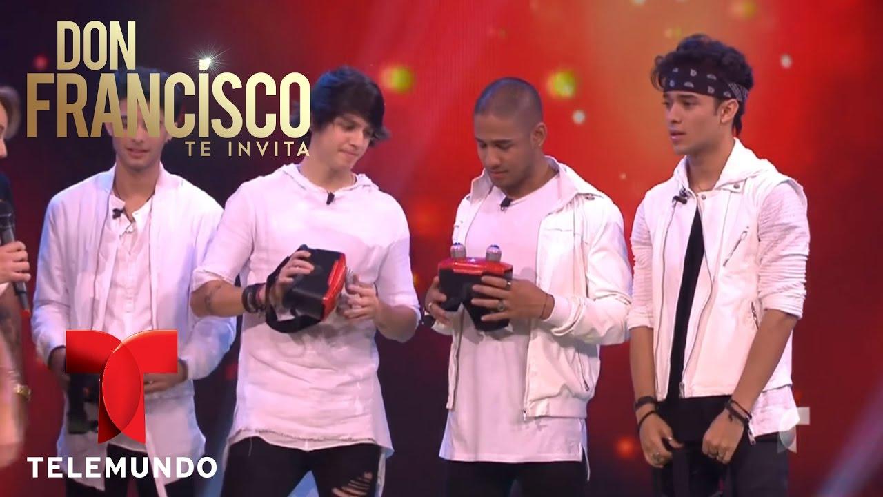 CNCO y Wisin juegan con Don Francisco | Don Francisco Te Invita | Entretenimiento