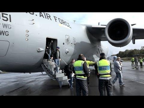 Värdlandsstöd och operativa transporter under Aurora 17
