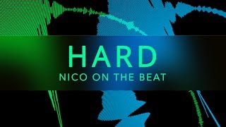 "BIG BASS Trap Beat Hip Hop Rap Instrumental - ""Hard"" (Prod. Nico on the Beat)"