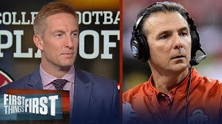 Joel Klatt on the CFB Playoff selecting Clemson, Oklahoma, Georgia and Alabama | FIRST THINGS FIRST