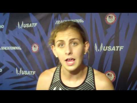 Mary Cain Only Had To Run 80% Effort To Run 4:12 At 2016 Olympic Trials