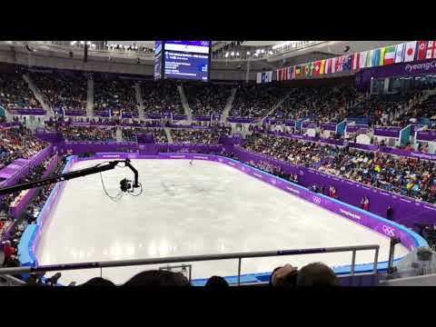 2018 평창동계올림픽 남자싱글 FS 차준환 Jun Hwan Cha