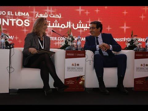 بنعتيق يسلط الضوء على الهجرة وتحدياتها في المنتدى المغربي الإسباني بالرباط