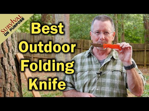 Best Outdoor Folding Knife Under $50 - Cold Steel Finn Wolf