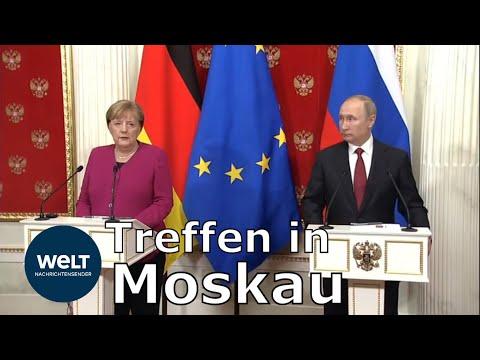 NORDSTREAM 2: Merkel stellt sich klar hinter das Projekt der Pipeline