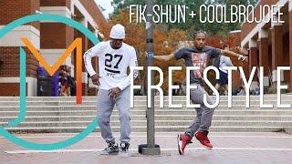 Fik-Shun + CoolBroJoee FREESTYLE // JUSMOVE WINNER