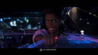 Black Panther - Car Chase Scene - Black Panther (2018) BLU RAY 1080P