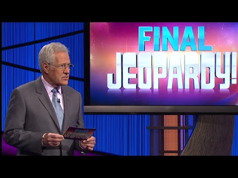 Jeopardy! James Holzhauer Day 24 Final Jeopardy 5/21/19
