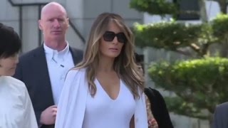 First lady Melania Trump's popularity rises