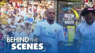 Real Madrid Legends vs Liverpool Legends -
