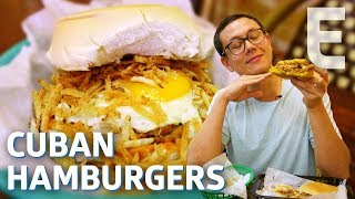 The Best Cuban Hamburger in Miami —Dining on a Dime