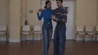 Two step double outside turn DANCIN' TIME.com