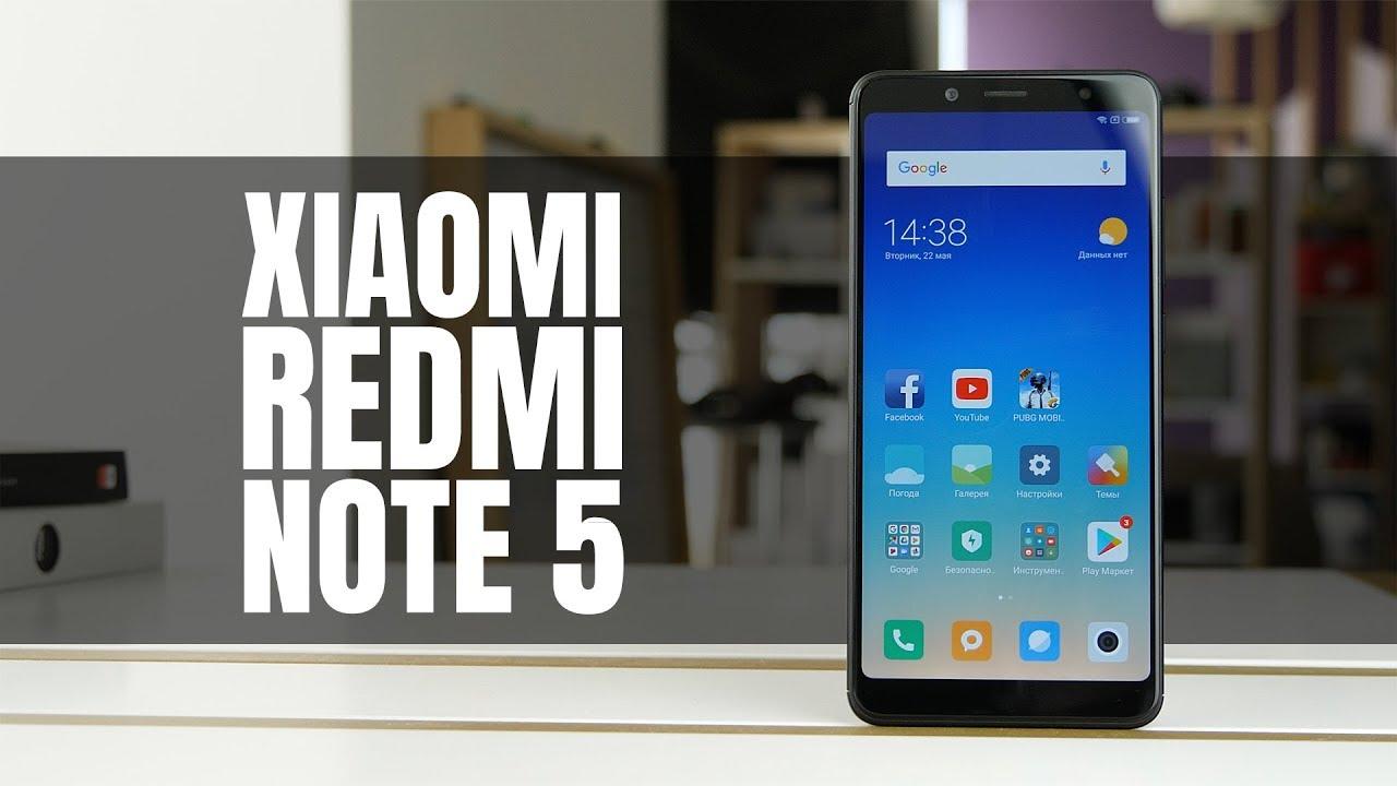 7f1651ed30407 Видеообзор Xiaomi Redmi Note 5 3/32Gb (Black) Официальная международная  версия
