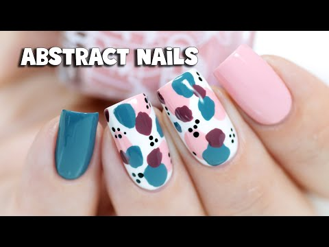 EASY ABSTRACT NAIL ART | Hope Collection by LCN
