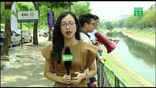 Công nghệ Nhật Bản xử lý ô nhiễm sông Tô Lịch | VTC14 - YouTube