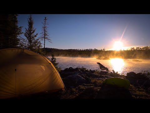 BECOMING WILD IN WABAKIMI - 12 Days and 200km ALONE. Part 2. Big Travel, Extreme Heat, Tons of FISH.