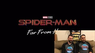Spider-Man: Far From Home Official Trailer #1 (Reactions and Thoughts)