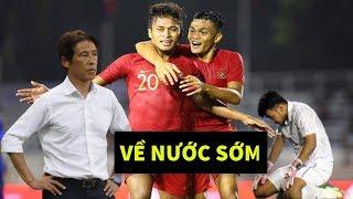 Thi đấu bạc nhược U22 Thái Lan thua thảm hại trước Indonesia HLV Nishino đứng hình - News Tube