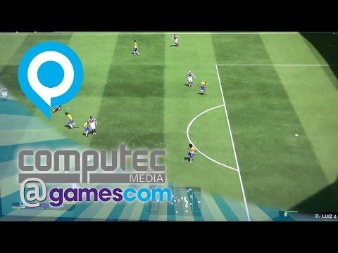 PES 2015 PS4-Gameplay   Gamescom 2014
