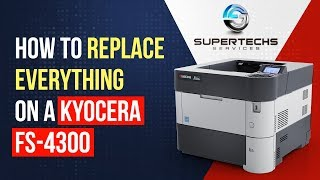 How to replace drum Kyocera fs-1128 drum counter clear c6400