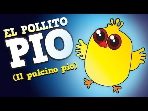 El Pollito Pio - Cantan Los Pollitos (Original en Español)