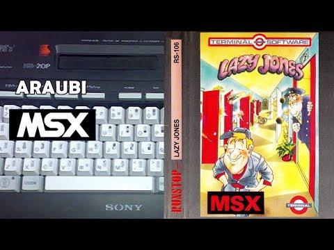 Lazy Jones (Terminal, 1985) MSX [559] Walkthrough