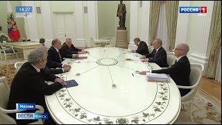Владимир Путин провел встречу с лидерами фракций в Госдуме