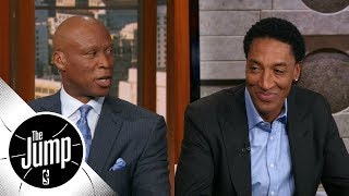 Byron Scott and Scottie Pippen disagree on Rookie of the Year pick | The Jump | ESPN