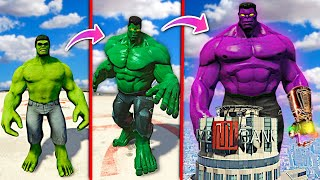 Upgrading HULK To GOD HULK In GTA 5.. (Mods)
