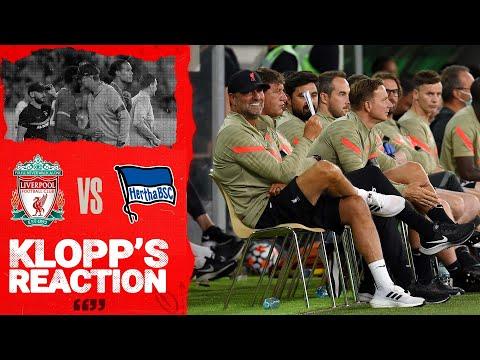 Klopp's Reaction: Van Dijk & Gomez return, tactical changes & Evian plans | Liverpool vs Hertha BSC