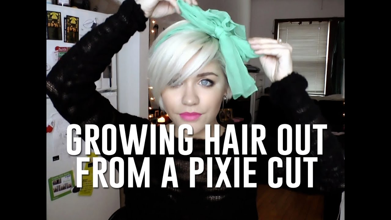 Growing Hair Out From Pixie Cut How To Cope While Lookin
