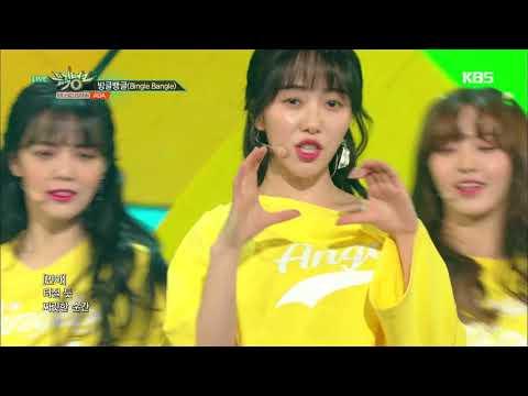 뮤직뱅크 Music Bank - 빙글뱅글(Bingle Bangle) - AOA.20180615