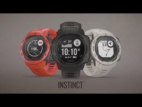 Garmin InstinctTM - Die Outdoor-Smartwatch, gemacht für deine härtesten Einsätze