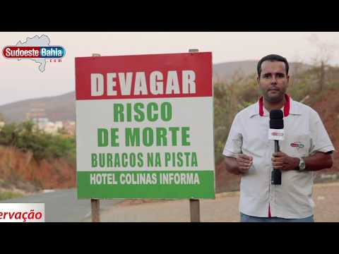 Caetité: Rodovias estão em péssimo estado de conservação