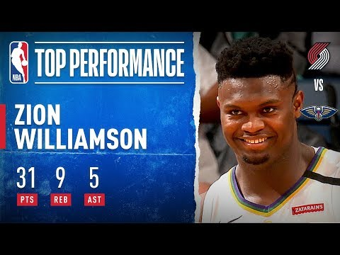 Zion Tallies CAREER-HIGH 31 PTS!