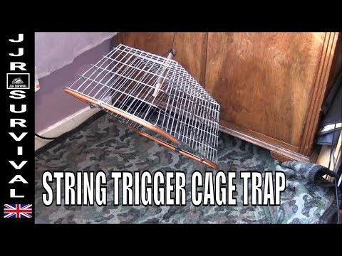String Trigger Cage Trap