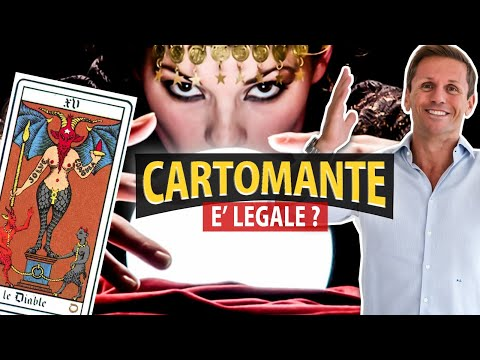 Fare il  CARTOMANTE o il MAGO è LEGALE? | Avv. Angelo Greco