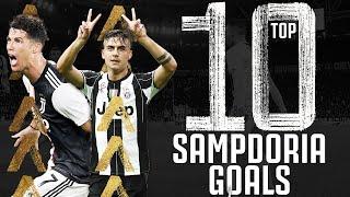 🗓?Top 10 Juventus - Sampdoria Goals! | Ronaldo, Dybala, Marchisio, Baggio & More!