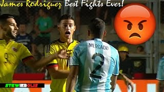 James Rodriguez ● Best Fights & Angry Moments Ever! ● 1080i HD #JamesRodriguez