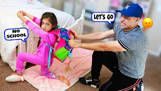 Our Daughter Suri Doesn't Want To Go To School ANYMORE... | Jancy Family