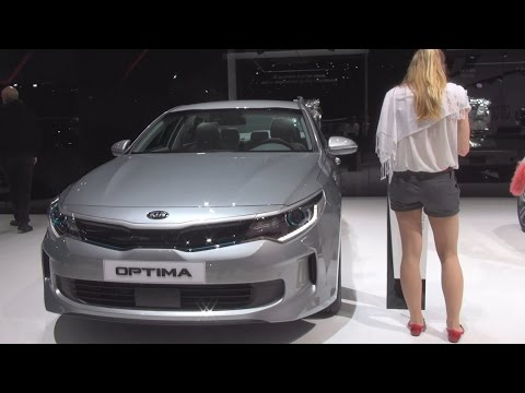 Kia Optima Plug-in Hybrid P-HEV (2016) Exterior and Interior in 3D