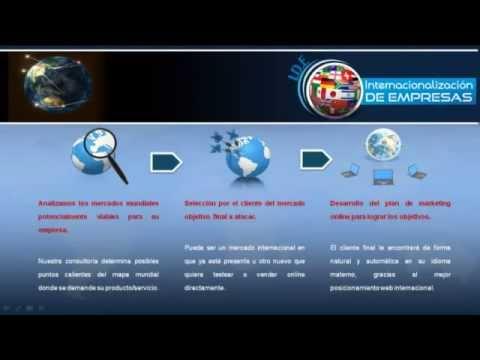 Internacionalización online de empresas