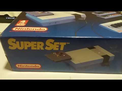 Kilos de nostalgia: desempaquetamos una NES