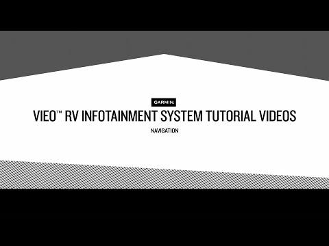 Vieo RV Infotainment System Tutorial Videos – Navigation