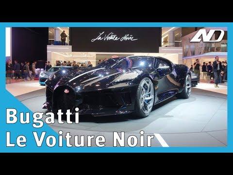 Bugatti Le Voiture Noir   El auto más caro del mundo ?  #GIMS2019