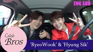 """Ryeowook(Super Junior) & Hyungsik(ZE:A), Celeb Bros S3 EP1 """"Temptation of wolves"""""""