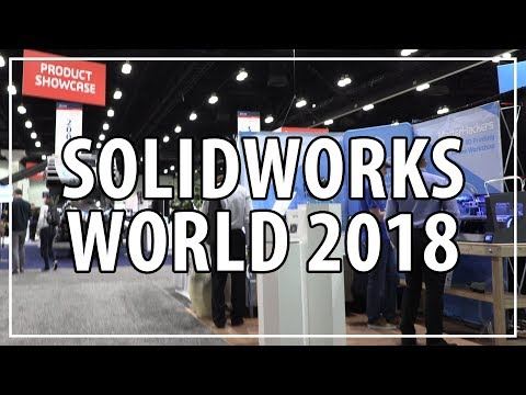3D Printing & CNC Milling at Solidworks World 2018 w/ Matterhackers, Raise3D, Desktop Metal, Tormach