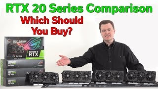 "Which RTX 20 Series GPU Should You Buy? — Where is ""The Deal""? — 21 Benchmarks"