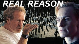 Ridley Scott Tells The REAL REASON Why David Killed Engineers || Alien Covenant